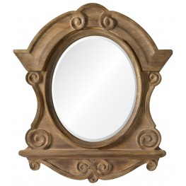 Clary Natural Wood Mirror