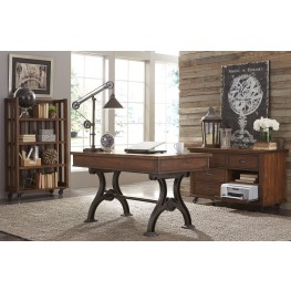 Arlington House Cobblestone Brown Home Office Set