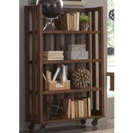 Arlington House Cobblestone Brown Open Bookcase
