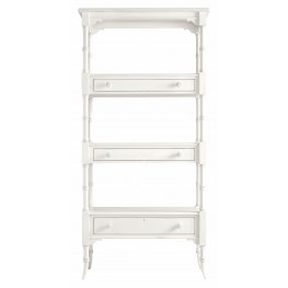 Coastal Living Saltbox White Etagere