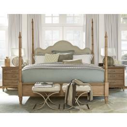 Moderne Muse Bisque Poster Bedroom Set