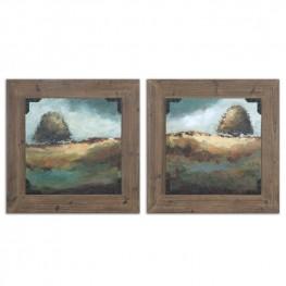 Trees Of Love Framed Art Set of 2