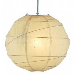 Orb Natural Large Pendant