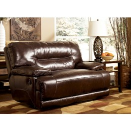 Exhilaration Chocolate Zero Wall Power Wide Recliner