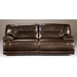 Exhilaration Chocolate 2- Seat Reclining Sofa with Power