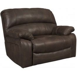 Zavier Truffle Wide Seat Power Recliner