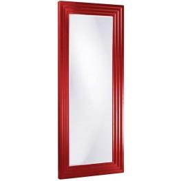 Delano Red Tall Mirror