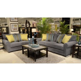 Anniston Carbon Living Room Set
