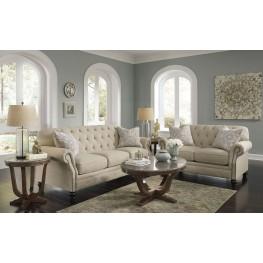 Kieran Natural Living Room Set