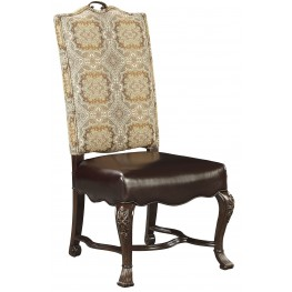Casa D'Onore Sella Upholstered Side Chair