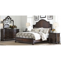 Casa D'Onore Sella Wood Panel Bedroom Set