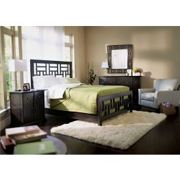 Perspectives Lattice Low Profile Bedroom Set