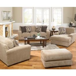 Prescott Putty and Marble Living Room Set
