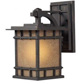45010-1 Newlton Weathered Charcoal 1 Light Outdoor Sconce
