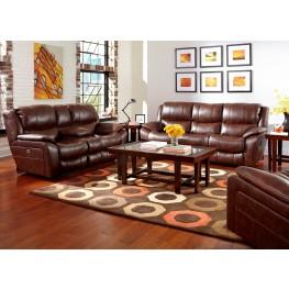 Beckett Java Reclining Living Room Set