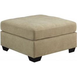 Maier Cocoa Oversized Accent Ottoman