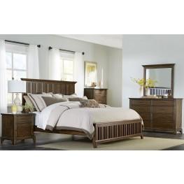 Mill Creek Bedroom Brown Panel Bedroom Set