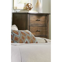 Mill Creek Brown 5 Drawer Chest