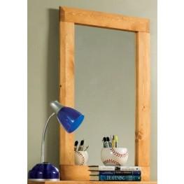 Wrangle Hill Amber Wash Mirror