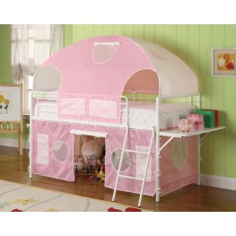 Bunks White Girl Tent Bunk Bed 460202