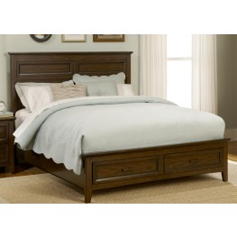 Laurel Creek Queen Panel Storage Bed