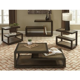 Bennett Pointe Smokey Tan Occasional Table Set
