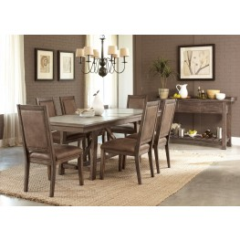 Stone Brook Trestle Extendable Dining Room Set