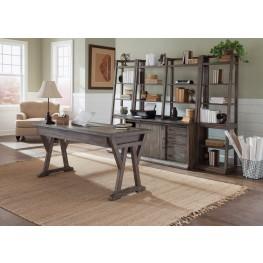 Stone Brook Rustic Saddle Home Office Set