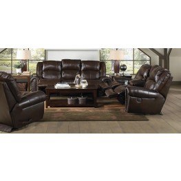Jordan Tobacco Power Reclining Living Room Set