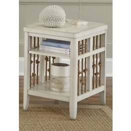 Dockside II White Chair Side Table