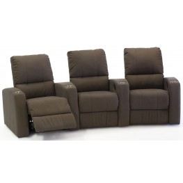 Pacifico Upholstered Power Reclining Home Theatre Seating