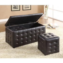 Reynolds Storage Bench with 2 Ottomans