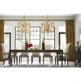 California Hollywood Hills Rectangular Extendable Dining Room Set