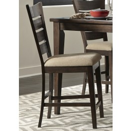 Pebble Creek II Ladder Back Counter Chair