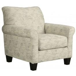 Baveria Gray Accent Chair