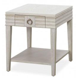 California Malibu Drawer End Table