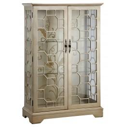 Metallic Curio Cabinet