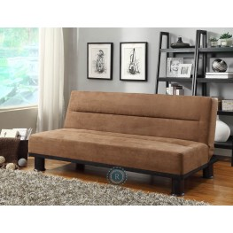 Callie Brown Elegant Futon