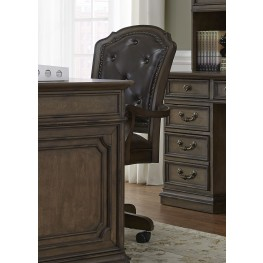 Amelia Antique Toffee Jr Executive Office Chair