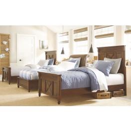 Big Sur Saddle Brown Youth Highlands Panel Bedroom Set
