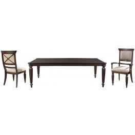 Jessa Extendable Rectangular Leg Dining Room Set