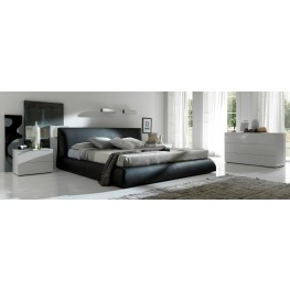 Coco Brown Platform Bedroom Set