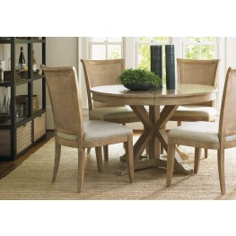 Monterey Sands San Marcos Extendable Round Dining Room Set