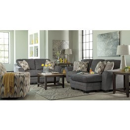 Braxlin Charcoal Living Room Set