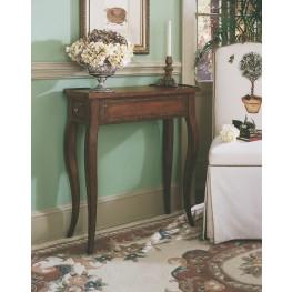 Dark Wood Rectangular Accent Table