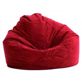 Big Joe Ultra Lounge Sierra Red Suede Comfort Chair