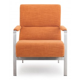 Jonkoping Sunkist Orange Arm Chair