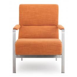 Jonkoping Sunkist Orange Arm Chair