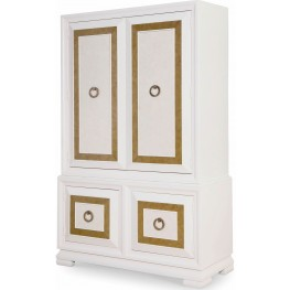 Tower Suite Pearl Armoire