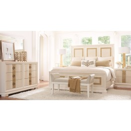 Tower Suite Pearl Panel Bedroom Set